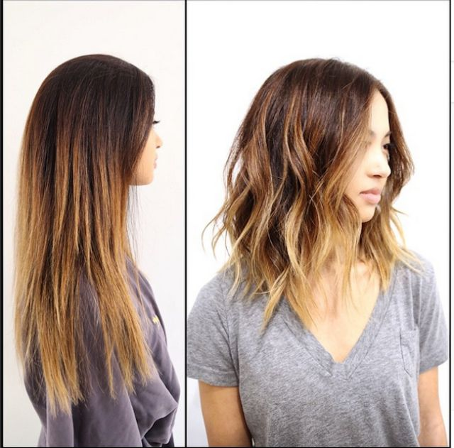 The Best of Instagram: 29 Hairstyles for Spring 2015: Beachy Lobs: Casual, Cool and Sooooo 2015