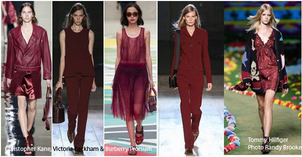 Marsala clothes