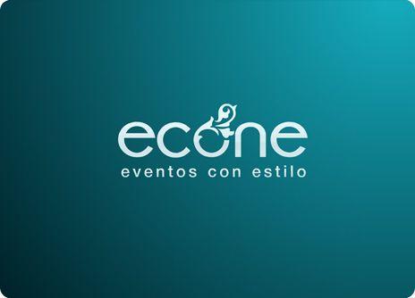 ECONE: Diseño de logotipo para empresa de eventos exclusivos.
