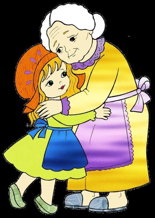 Рисунки про бабушку