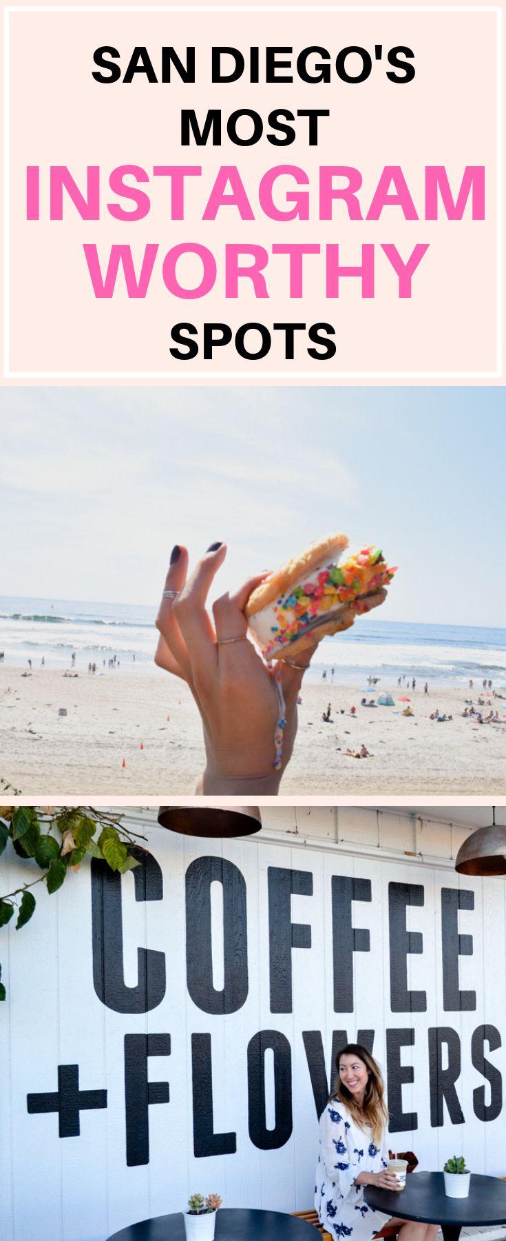 San Diego's Most Instagram Worthy Spots