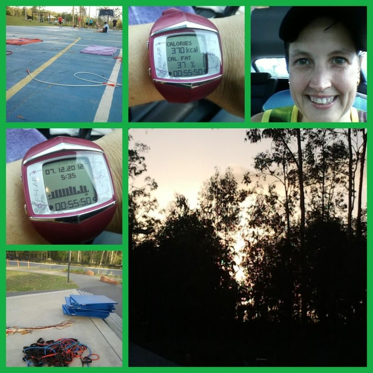 @jeybird8: Day 5   Friday morning group training!