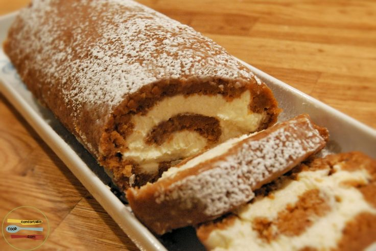 i've always wanted to make one of these spiced pumpkin roll cakes.