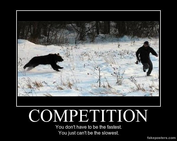 Competition - Demotivational Poster                                                                                                                                                                                 More