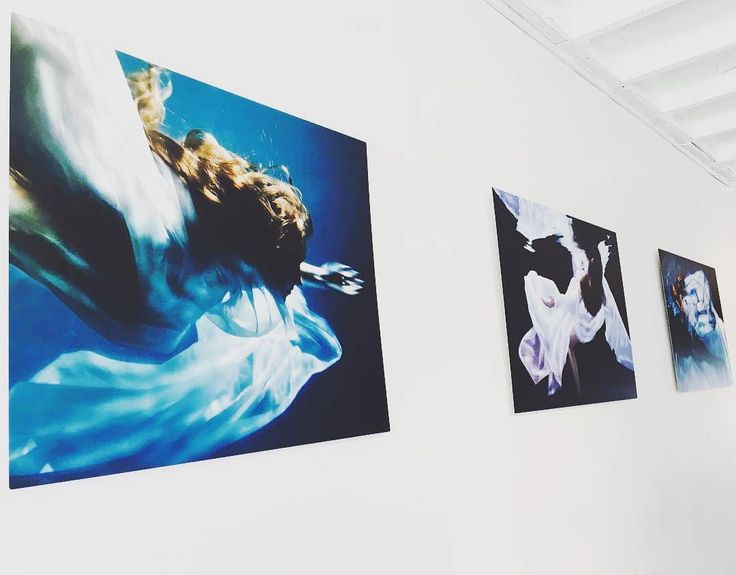 "Reposting @village.design ""Don't miss the chance to check out @rmccawley Water Series currently on display. Exhibition will remain until Sunday October 1st 
