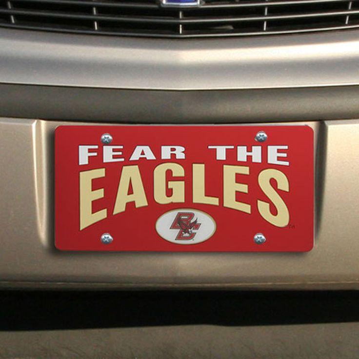 Boston College Eagles Fear Team Laser Tag - Maroon/Gold/White