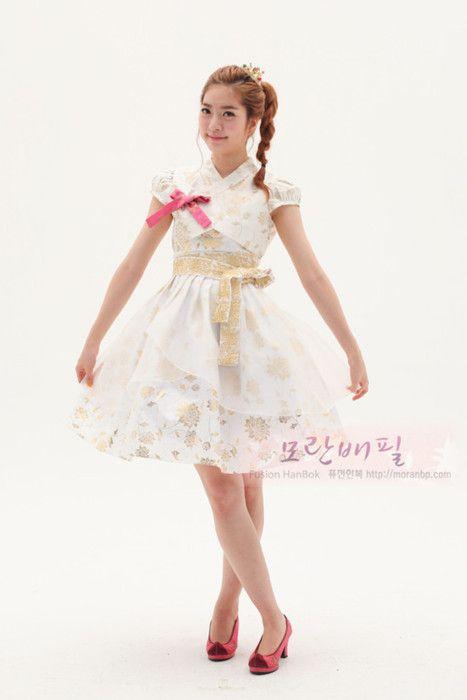 CLover BLossoms: Fusion Hanbok (Korean Modern Hanbok) part 1
