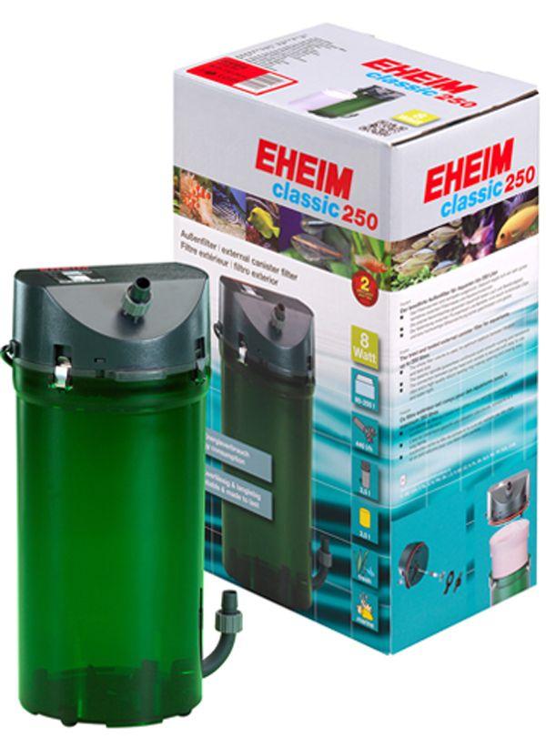 Фильтр внешний EHEIM CLASSIC 250 краны,губки +био наполнитель