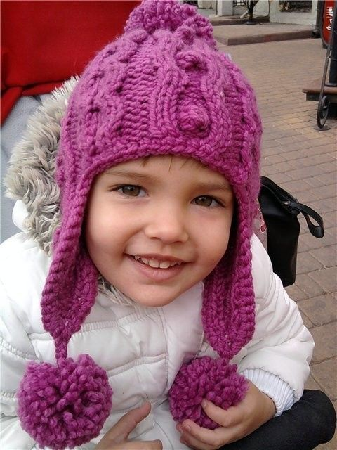 Шапочка на ребенка 2-х лет (Вязание спицами) | Журнал Вдохновение Рукодельницы