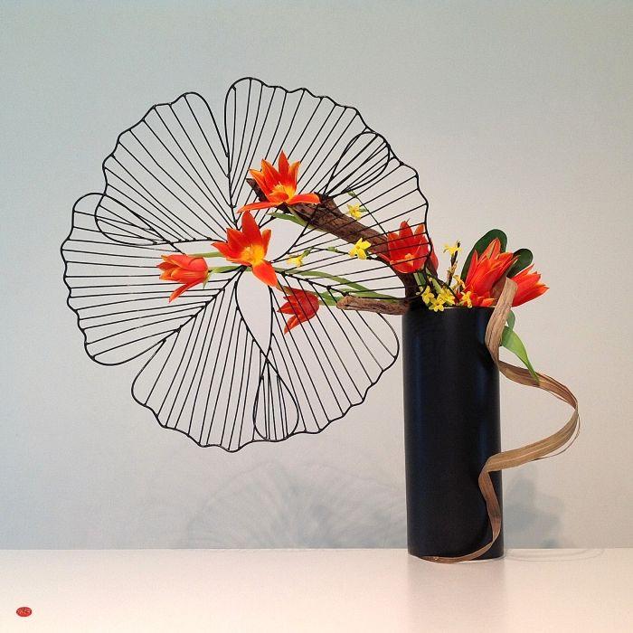 Ikebana - spring bloom