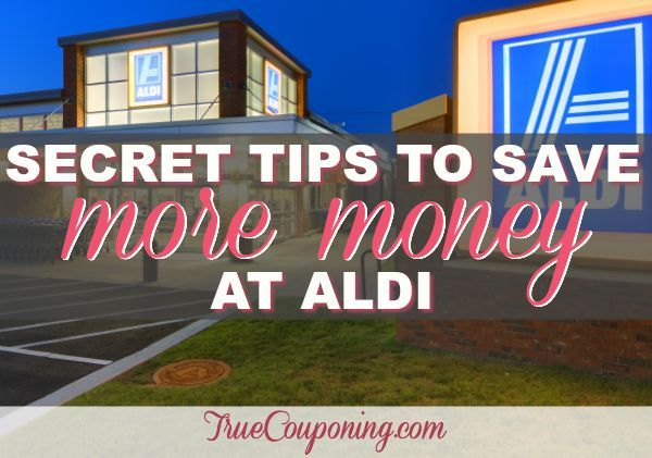 In addition to Aldi Specials, there are also many secrets to saving at Aldi that you may not know. Check out these secret savings tips to save more at Aldi!