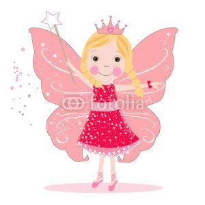 Peri Kızı Vektör Tasarımlarım * Cute fairy