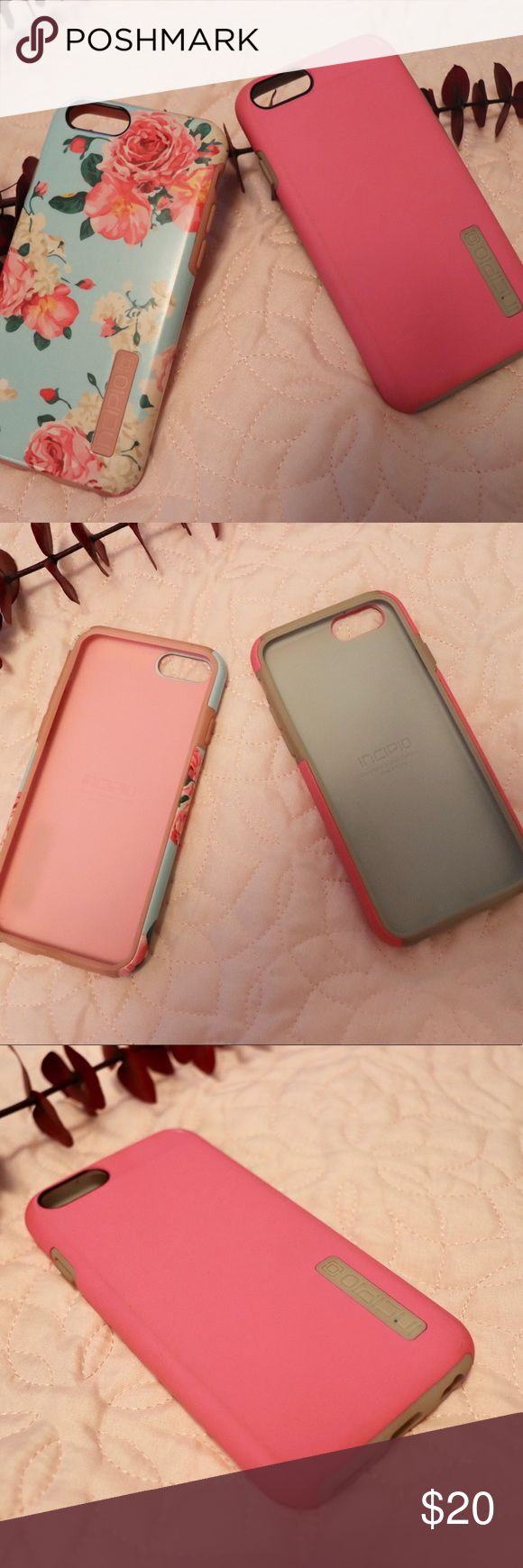Incipio & Isaac Mizrahi iPhone 6 Cases Lot of 3 Incipio & Isaac Mizrahi Phone Cases For iPhone 6  Set of three iPhone 6 cases   - Condition: Pre-Owned - Brand: Incipio and Isaac Mizrahi - Each case is around $30.00 new  - Heavy duty, dual layer protection  - Comes from a smoke free home  If you have any other questions please contact me!  I'll ship next business day! 📦📬📮  ~Thank you for stopping by!💕 Incipio Accessories Phone Cases