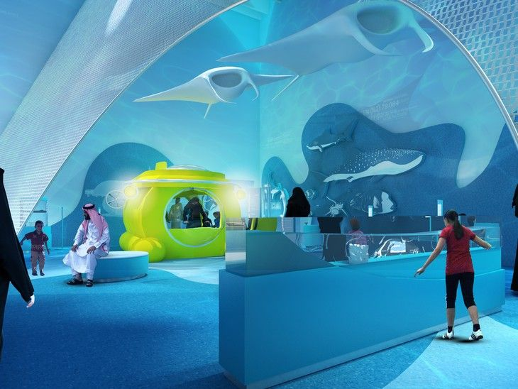 Projects Prince Salman Science Oasis Triad Berlin Exhibition Science Technology Center