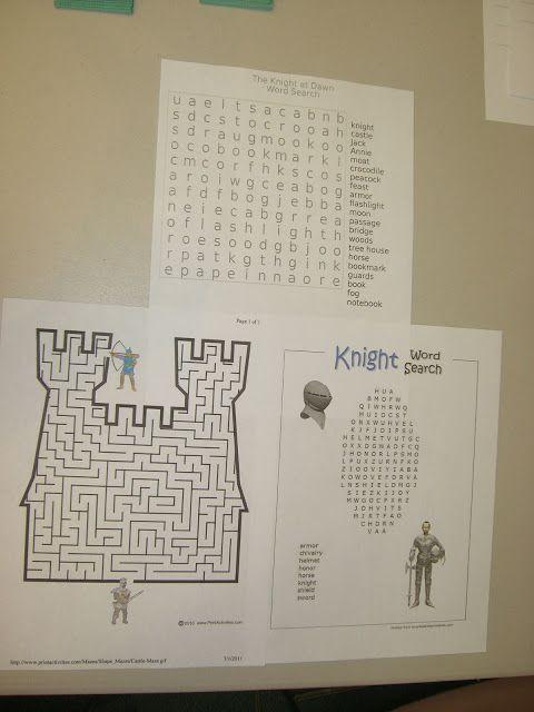 Magic Tree House Book Club: The Knight at Dawn