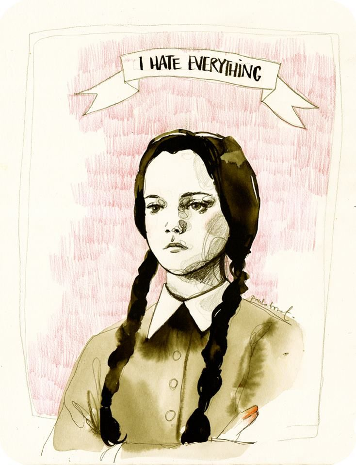 """I hate everything"" by Paula Bonet"