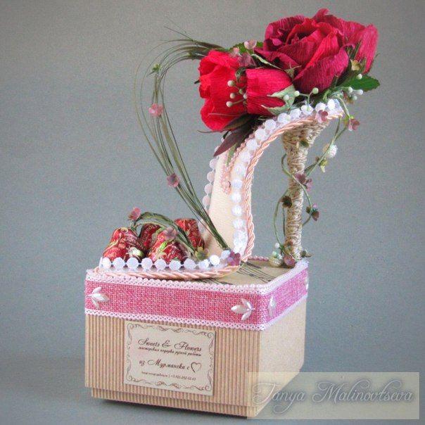 Sweets & Flowers. Подарки из конфет. Мурманск.