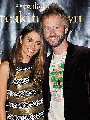 Nikki and new hubby Paul at Comic Con BD2 party 7/11/12
