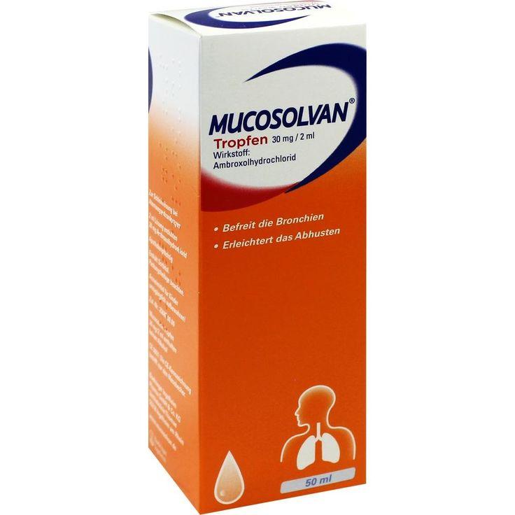 MUCOSOLVAN Tropfen 30 mg-2 ml:   Packungsinhalt: 50 ml Tropfen zum Einnehmen PZN: 00743474 Hersteller: Boehringer Ingelheim Pharma GmbH &…