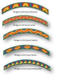 Image result for girl scout vest placement of badges cadette