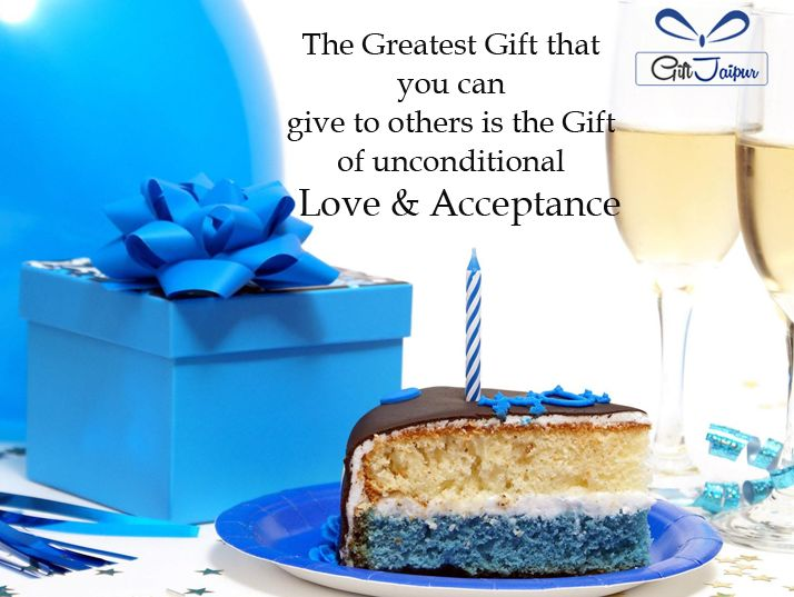 The Greatest #Gift is Unconditional Love & Acceptance