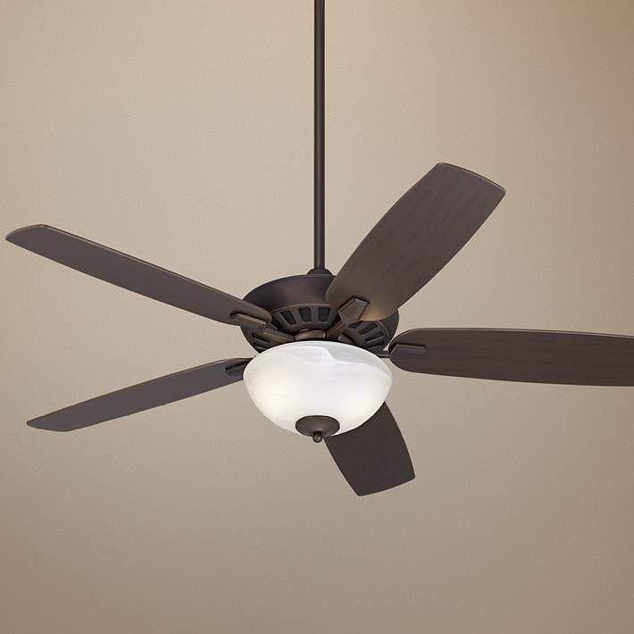 Journey Oil-Rubbed Bronze Ceiling Fan with Light Kit - #M2751-T4200 | Lamps Plus