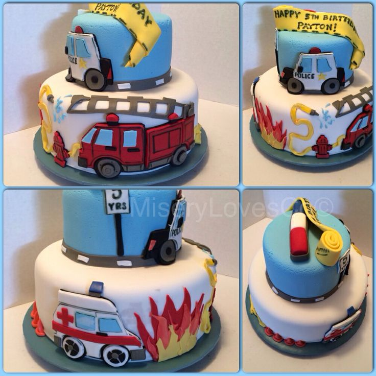 Emergency Rescue Vehicle Cake Decorating Kit : 21 best Emergecy Vehicle Birthday Party images on ...