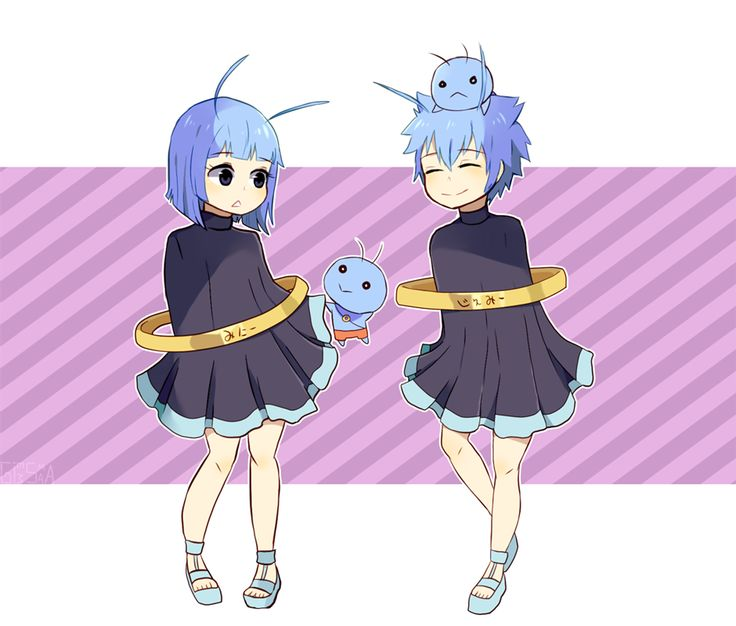 Fairy Tail Gemini, I liked them as their human form way more tbh