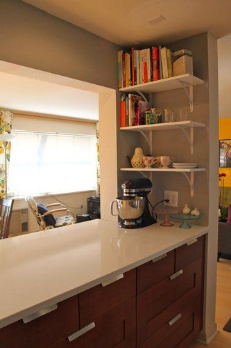 17 best images about kitchen remodel updates on pinterest for Opening up a galley kitchen