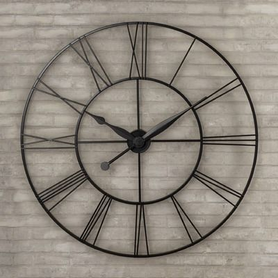 found it at wayfair grafton oversized xxl wall clock