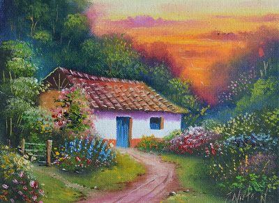 paisajes-campesinos-al-oleo-pintura-costumbrista