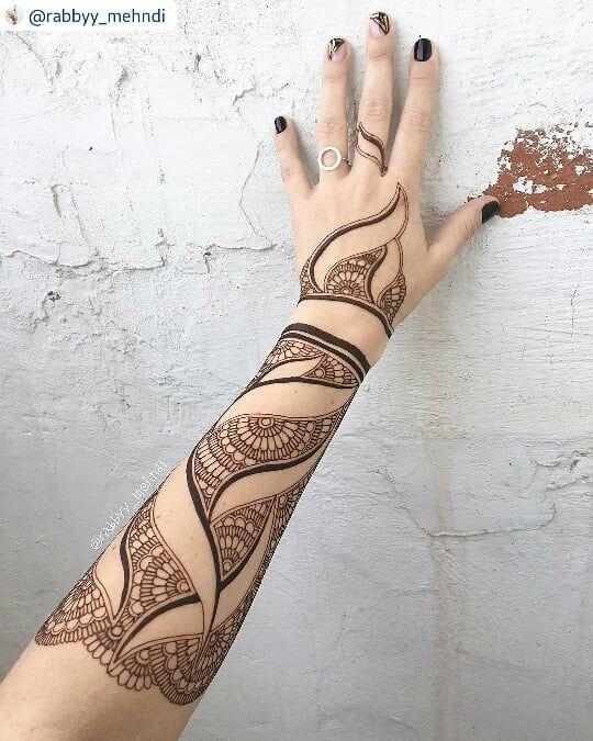"100 Likes, 3 Comments - imehndi.com (@imehndicom) on Instagram: ""Incredible henna by @rabbyy_mehndi #repost TAG YOUR FRIEND #mehndi #henna #hennatattoo…"""