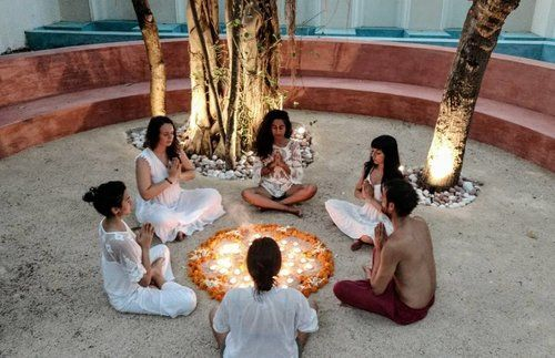 Agnihotra Havan, Boutique Yoga Holiday in Goa, India . An Akasha curated experience in January 2018 #yogaretreats #goa #india