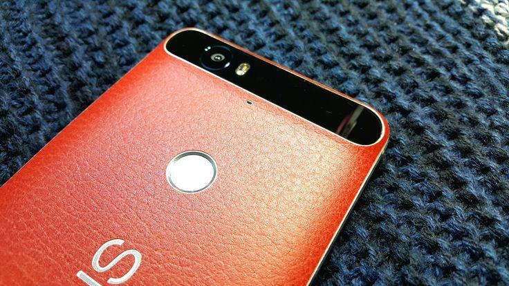 Folii Carbon 3M Leather Brown Huawei Nexus 6P