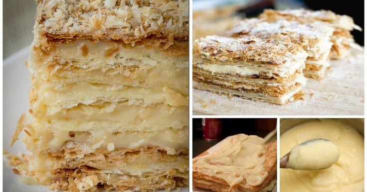 La torta diplomatica è un vanto della pasticceria italiana.  La diplomatica si compone di strati di pasta sfoglia e uno strato di pan di Spagna, imbevuto di bagna per...