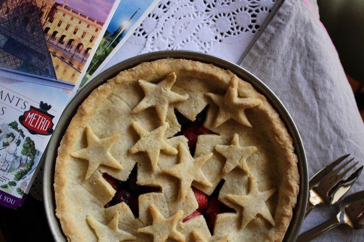 Gluten Free Summer Berry Pie | Wonderland Eats