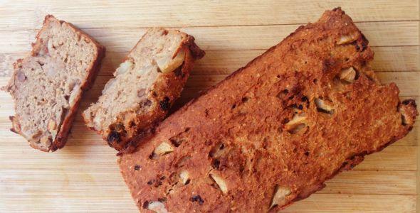 Kwarkbrood met peer    skinny & gezond - #byebyebelly