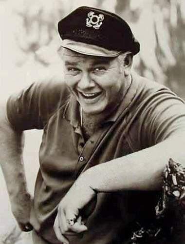 Alan Hale Jr. (his dad was Little John with Errol Flynn in Robin Hood)