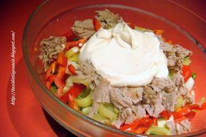 Ταξίδι στις γεύσεις!!!: Τονοσαλάτα