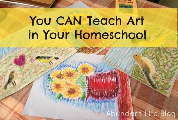 Teaching Art in the Homeschool... interesting resources for down the road (10+)