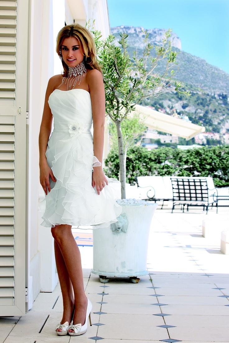 7 besten Standesamt Kleider Bilder auf Pinterest | Brautkleider ...