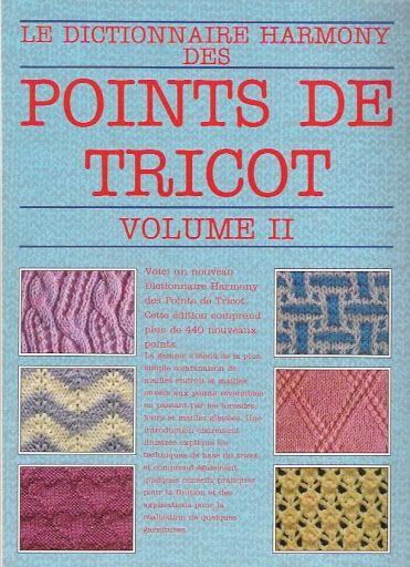 Dictionnaire Harmony Point de tricot vol.2 - Nica Santos - Picasa Albums Web
