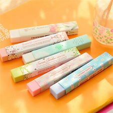 FD2444 Elegant Long Cleansing Drawing Painting Rubber Eraser Stationary Gift 1pc