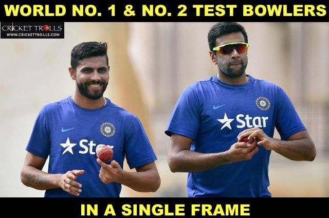 Ashwin Ravi moves up to no. 2 in latest ICC rankings; Ravindra Jadeja retains his no. 1 spot For more cricket fun and updates click http://ift.tt/2gY9BIZ - http://ift.tt/1ZZ3e4d