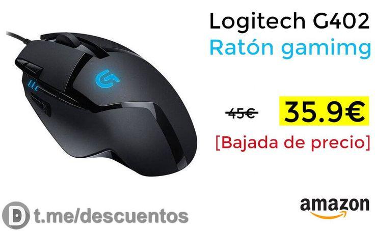 Ratón gamimg Logitech G402 disponible por 3599 - http://ift.tt/2A3qD1I