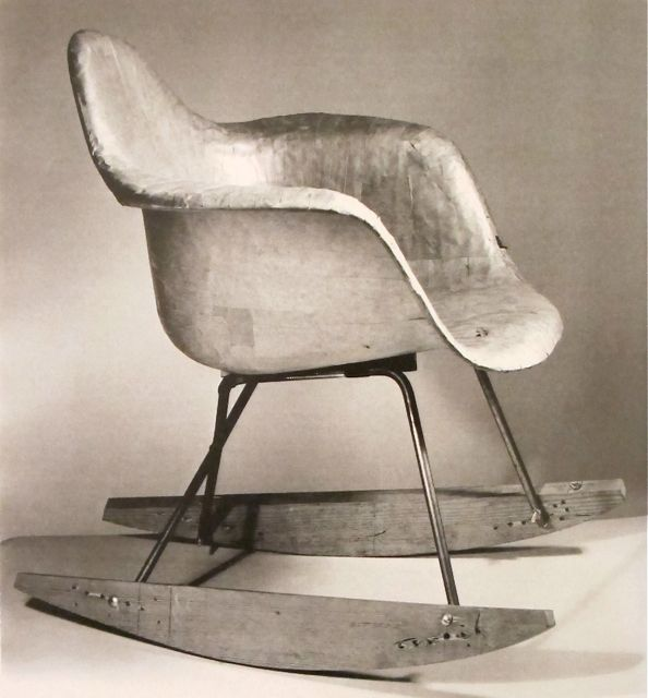An example of an Eames prototype | RAR rocker. Now you see why the Eameses worked on iteration after iteration.