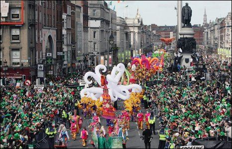 St. Patty's Day in Dublin