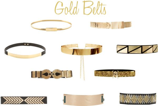 Luxe Report: Gold Belts I'm going to need one of these.