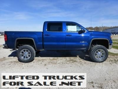 new 2014 gmc sierra 1500 crew cab sle lifted truck lifted gmc trucks for sale pinterest. Black Bedroom Furniture Sets. Home Design Ideas