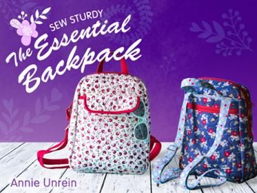 Sew two travel organizers that are functional, stylish and an impressive addition to your sewing repertoire!